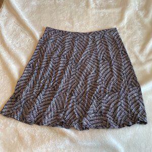 Liz & Co knit flare skirt XL